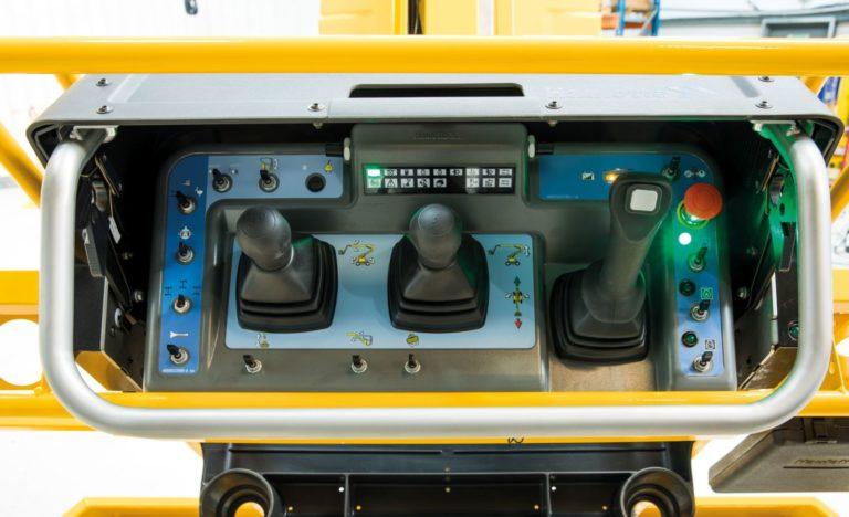 Upper control box- I