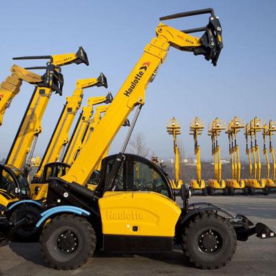 Haulotte machines fleet from Belaruslift - belarus