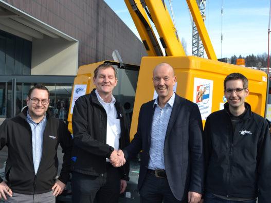 Arbor AG becomes Haulotte Germany's  official partner in Suisse  > http://www.haulotte.de//die-arbor-ag-wird-offizieller-vert