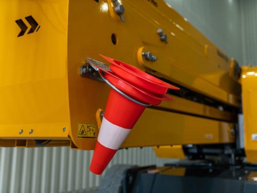 SIGMA 16 safety cone holder option